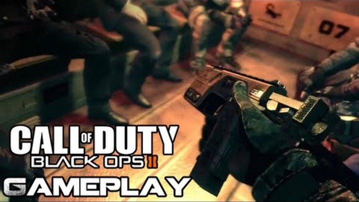 Black Ops 2 GAMEPLAY Singleplayer Campaign Protect POTUS Mission (Call of Duty COD BO2 Official HD)