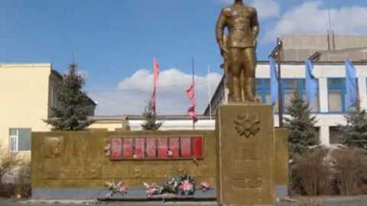 История памятного мемориала погибшим в Великую отечественную войну, 1941-45 г.г. в селе Кунарском