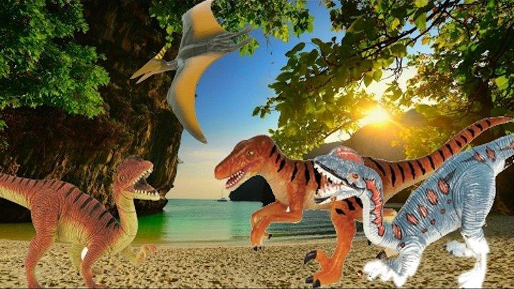 СБОРНИК. Приключения и путешествия динозавров. Мультфильмы на русском языкек