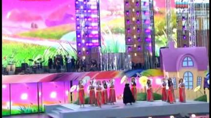 "ВАЛЕРИЯ - Птица-разлука. Концерт ""Россия молодая"" 2011"