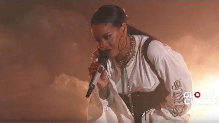 Rihanna FourFiveSeconds | Live at Global Citizen Festival 2016