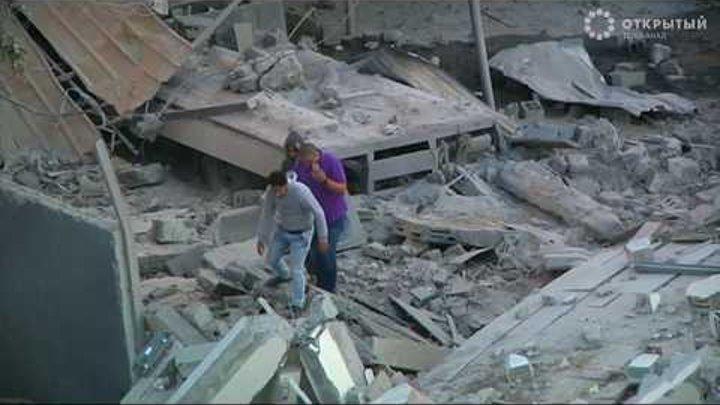 Израиль нанес удары по сектору Газа в ответ на ракетные обстрелы ХАМАС