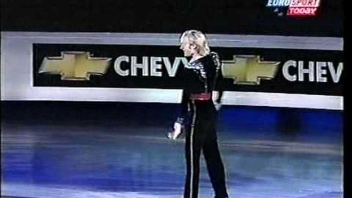 Evgeni Plushenko 2003 Euros - EX Carmen + St.Petersburg 300 - Russian Eurosport