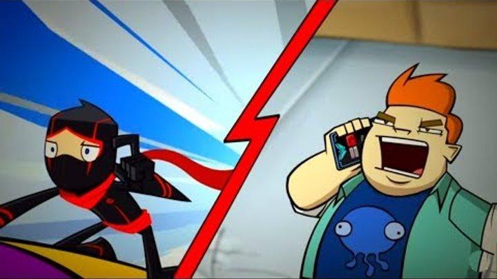 Классный ниндзя - Рорг: герой прошлого/ Смертельная схватка - Сезон 2 Серия 15 | Мультфильм Disney