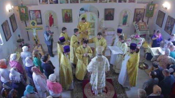 Новости Тулы: освящение храма Космы и Дамиана в Ревякино Тульской области