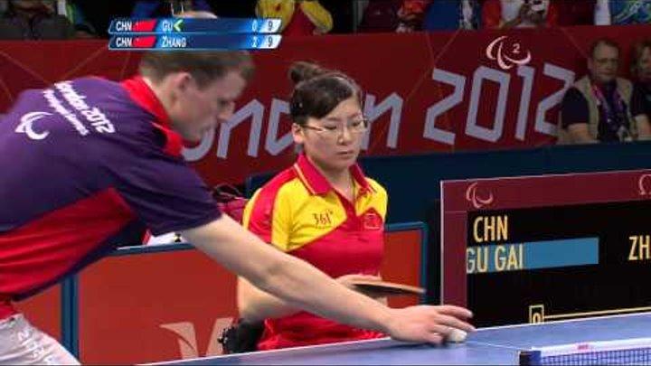 Table Tennis - CHN vs CHN - Women's Singles - Cls 5 Gold Medal Match - London 2012 Paralympic Games