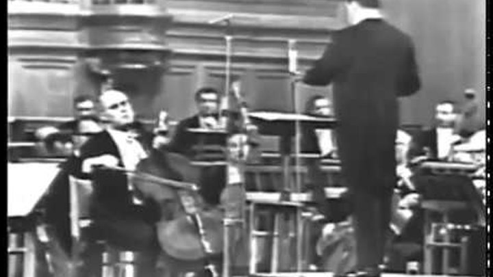 Mstislav Rostropovich - Shostakovich Cello Concerto No 2 Op 126