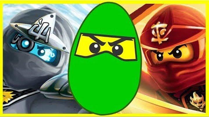 Лего Ниндзяго - Небесные Пираты - Призрачная Армия - Армия акул - Киндер Сюрприз. Lego Ninjago