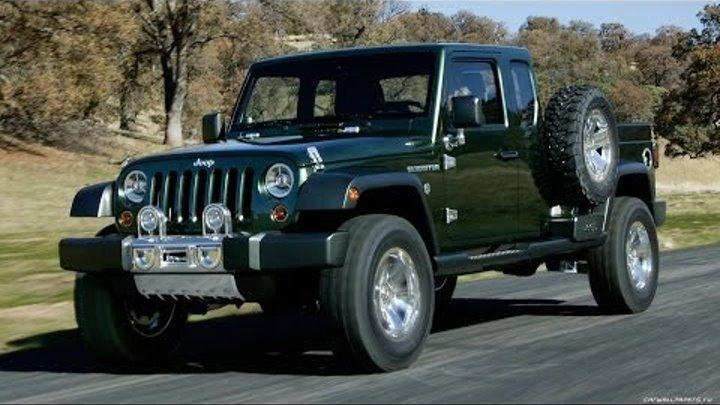 #234. Jeep Gladiator Concept 2005 (Концепт и тюнинг)