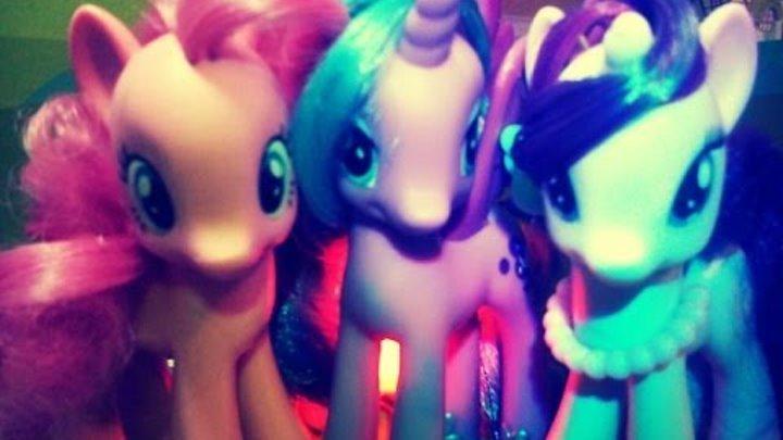 """Сериал """"Пони в поисках амулета Ночи"""" Serial about pony 2 серия 1 сезон MLP:FIM"""