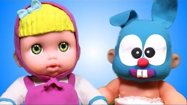Куклы пупсики мультик для девочек ПУПС мультфильмы для детей игра в МАСКИ играем в дочки матери