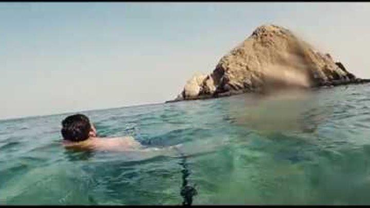 Индийский океан. Фуджейра. Черепаший остров. ОАЭ