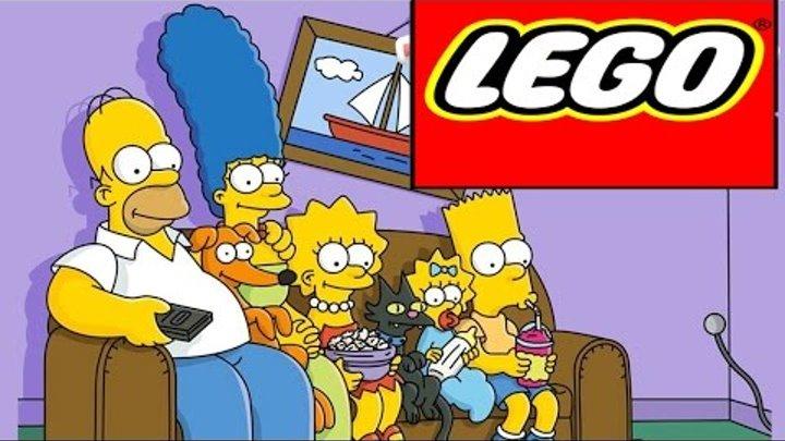 LEGO Minifigures Simpsons Series 2 LEGO Minifigures opening Лего минифигурки симпсоны серия 2