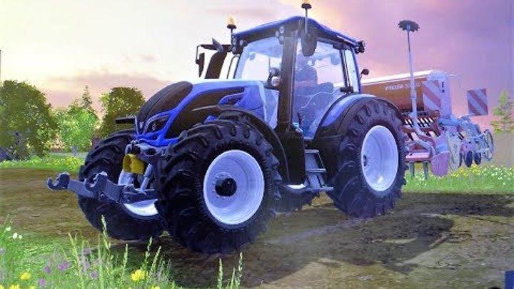Мультики про #Машинки для детей - Синий #трактор Ферма - Мультфильмы для мальчиков все серии подряд