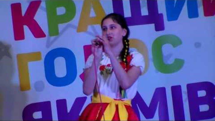 """Мария Гуменная . """" Лучший голос Акимовки. Дети."""" Полуфинал."""