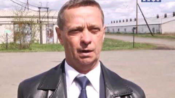 Губернатор проверил ход весенне-полевых работ в Катайске (2016-05-20)