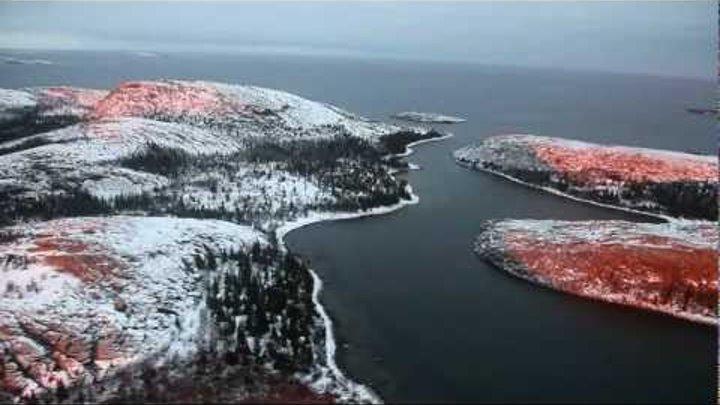 Феномен соединения двух Солнц на островах в Белом море