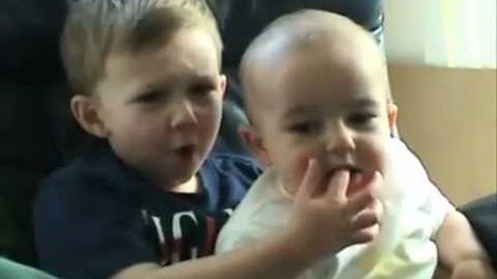 Top 10 .самых смешных малышей!