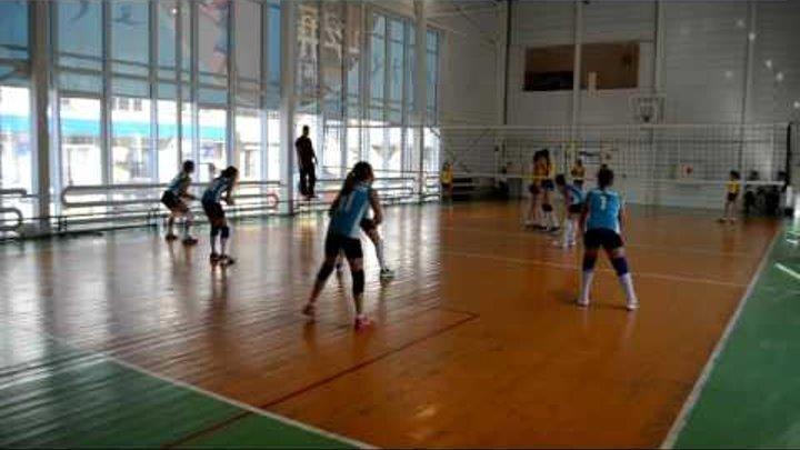 Краснодарский край. Девочки 2005-2006г.р. Абинск - Тбилисская 2:0.