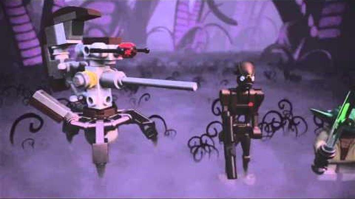 75002 Лего Звездные Войны Робот AT-RT