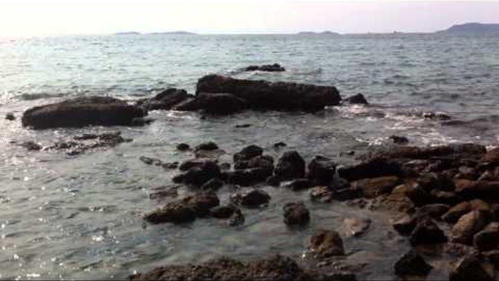 Остров Ко-Лан. Тайланд. Дикий пляж.