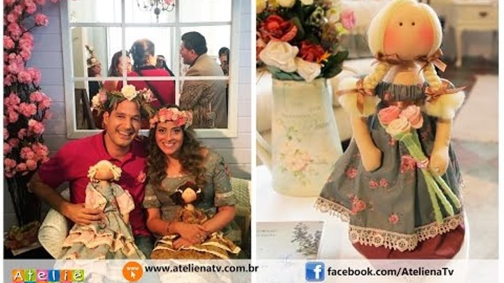 Ateliê na TV - Rede Brasil - 15.06.2016 - Millyta Vergara