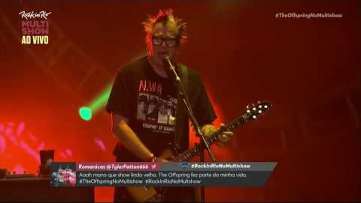 Why don't you get a job - Rock in Rio 2017 - The Offspring