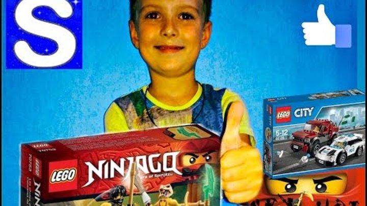Lego Ninjago - Nexo Knights. MegaSanyaTV- Лего Ниндзяго, Нексо Найтс, Майнкрафт + Мультики