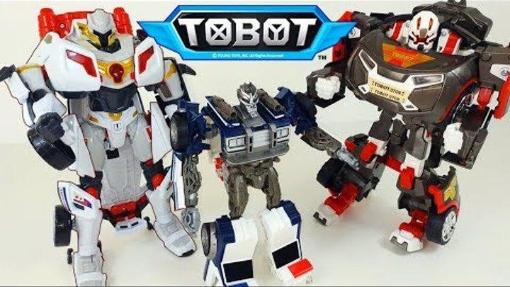ТОБОТЫ: Тобот X Тобот Y и Трансформер Баррикейд. Трансформируем Тоботов и Трансформеров - Челлендж