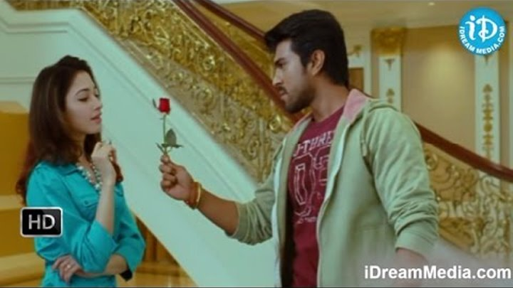 Racha Movie - Ravi Babu, Ram Charan, Tamannaah, Mukesh Rishi Fight Scene