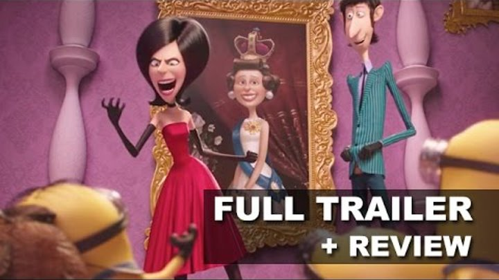 Minions 2015 Official Trailer 2 + Trailer Review - Scarlet Overkill : Beyond The Trailer