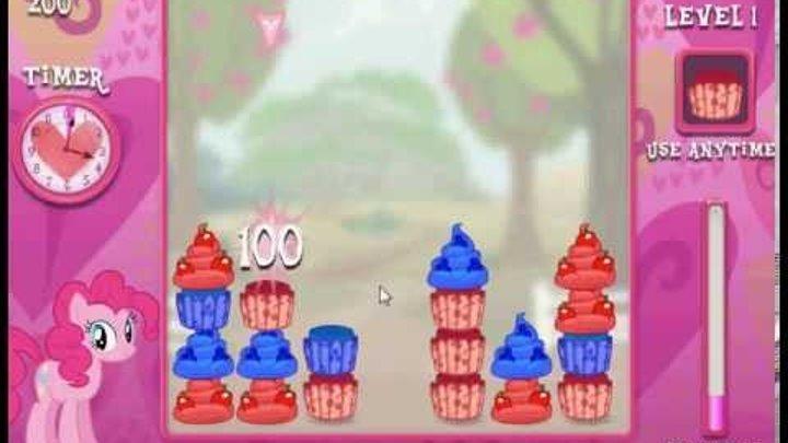Игра Дружба это чудо готовим пирожное (Маленькие пони)