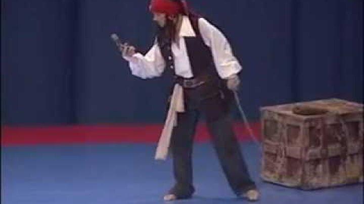 Riesa 2008 final Konstantin Merzlyakov Jack Sparrow/ капитан джек воробей