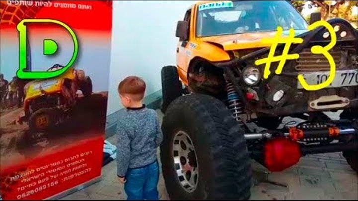 Монстр трак шоу на выставке авто Отомото ВЛОГ/#3/ Monster track show at the auto exhibition Otomoto