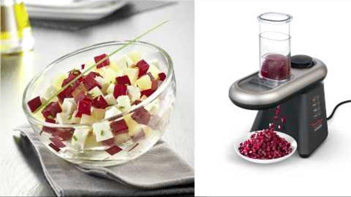 Fresh Express Cube & stick de Moulinex : Découpe vos ingrédients en un instant !