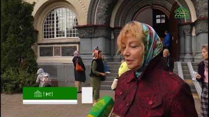 Десница святителя Спиридона Тримифунтского принесена в Санкт-Петербург