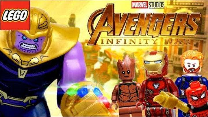 ЛЕГО Мстители: Война Бесконечности все наборы, камни и перчатка Таноса