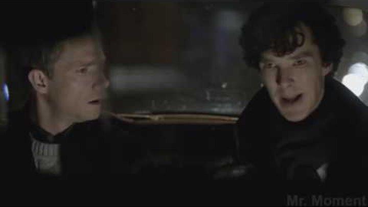 Разговор в такси Сериал Шерлок 1 сезон, 1 серия Этюд в розовых тонах