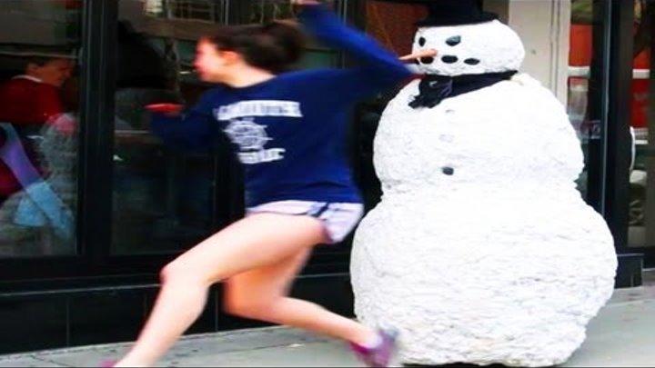 Смешные Страшные Снеговик Шутки Сезон 3 Эпизод 11