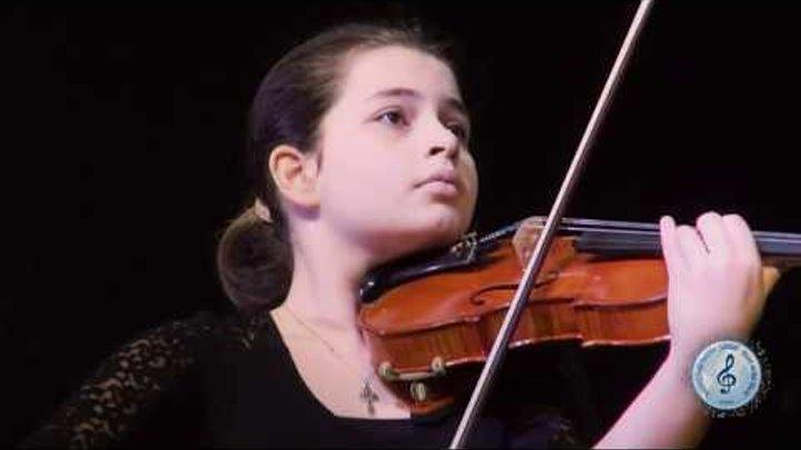 Мария Эмилия Терзян Хагба 12 лет ,Абхазия