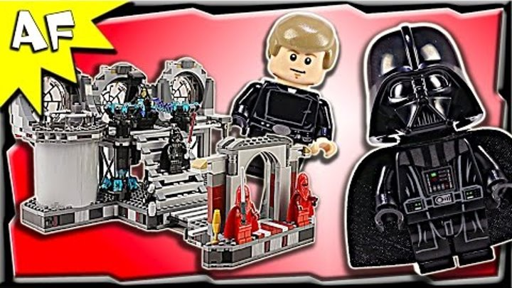 Lego Star Wars DEATH STAR FINAL DUEL 75093 Stop Motion Build Review