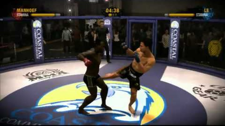 Видео обзор к игре EA Sports MMA Страна Игр