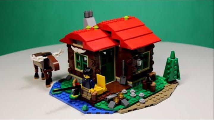 Lego Creator - Lakeside Lodge,31048/Лего Креатор - Дом На Берегу Озера, 31048.
