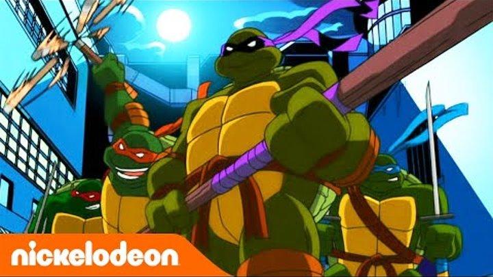 Черепашки-ниндзя 2003 | 1 сезон 1 серия | Nickelodeon