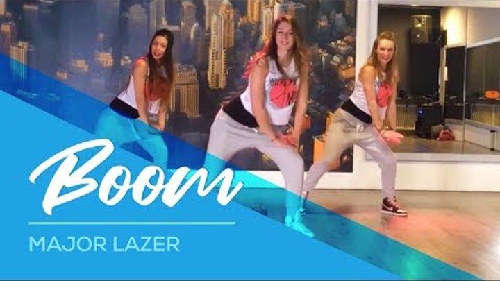 Major Lazer - Boom - Easy Dance Fitness Choreography Zumba kids