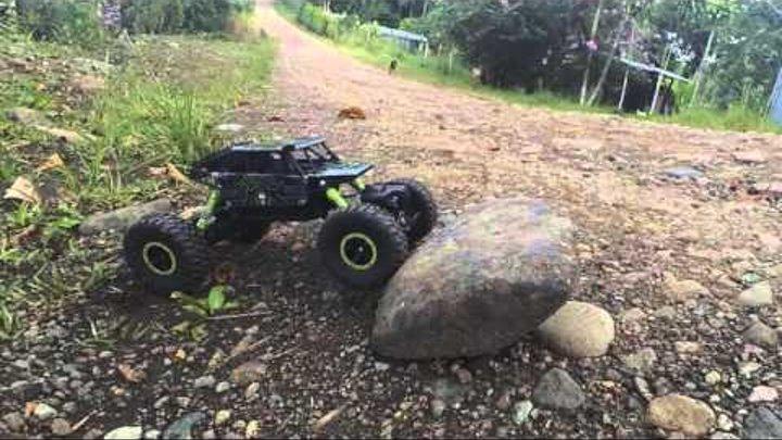 Rock Crawler HB P1803 RC Car 1:18   Revisado y Desempaquetado   Video Review   Llevado al limite!