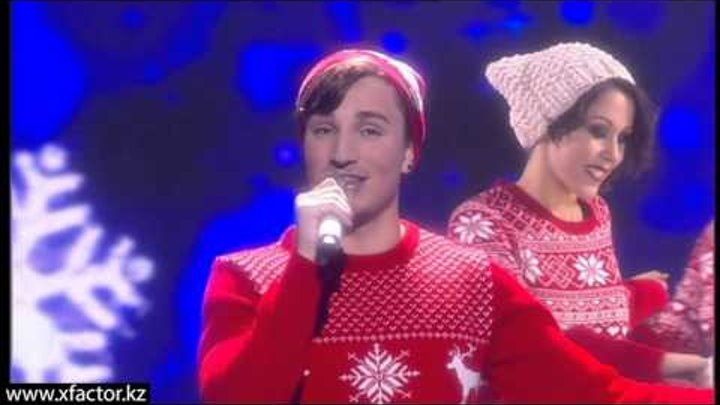 Владимир Новиков. Let it snow. X Factor Казахстан. 5 концерт. Эпизод 14. Сезон 6.