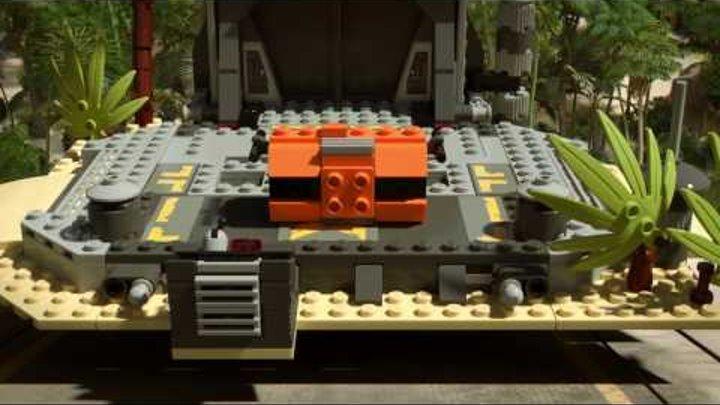 Battle on Scarif - LEGO Star Wars Rogue One - 75171 Product Animation