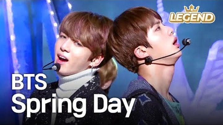 BTS - Spring Day | 방탄소년단 - 봄날 [Music Bank HOT Stage / 2017.02.24]