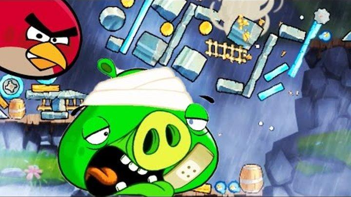 Злые птицы.Птицы Энгри бердс 2 [4] Мультик игра для детей. Angry birds 2.